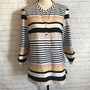 4/$25 Milano Striped Blouse